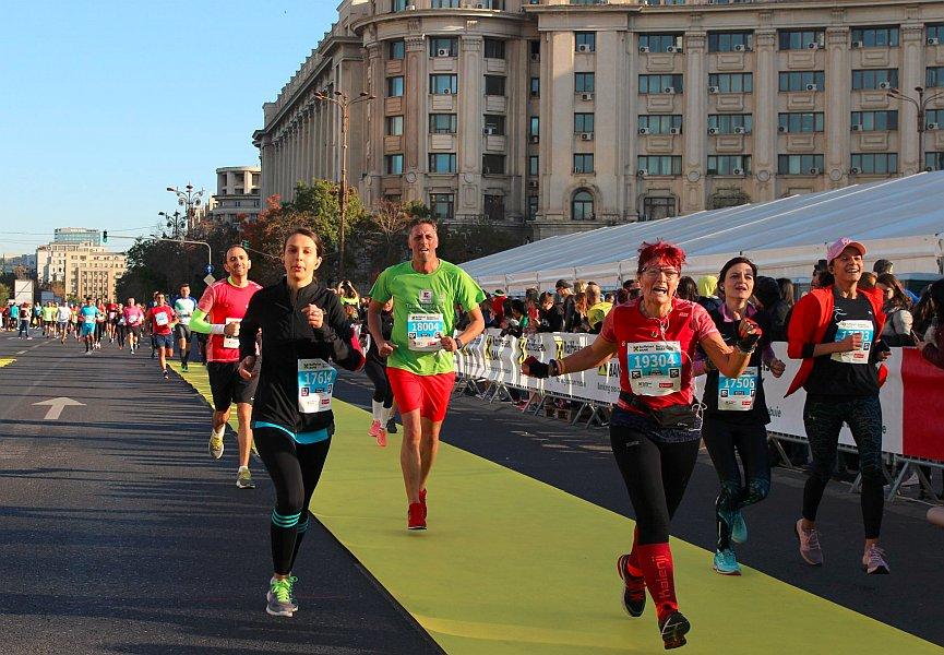 o contabilă de 57 de ani participă şi câştigă maratoane