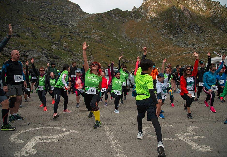 Elena Preda, contabilă 57 de ani, la pregătirea fizică pentru maraton