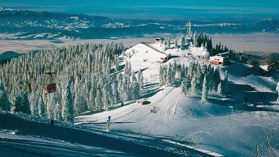 Poiana Brașov, destinația de iarnă preferată de români