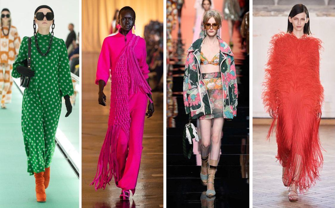 moda S/S 2020, culori vibrante