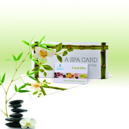 gift voucher spa card