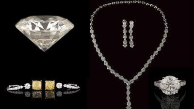 Licitaţie cel mai mare diamant şi bijuterii de 2 milioane de euro