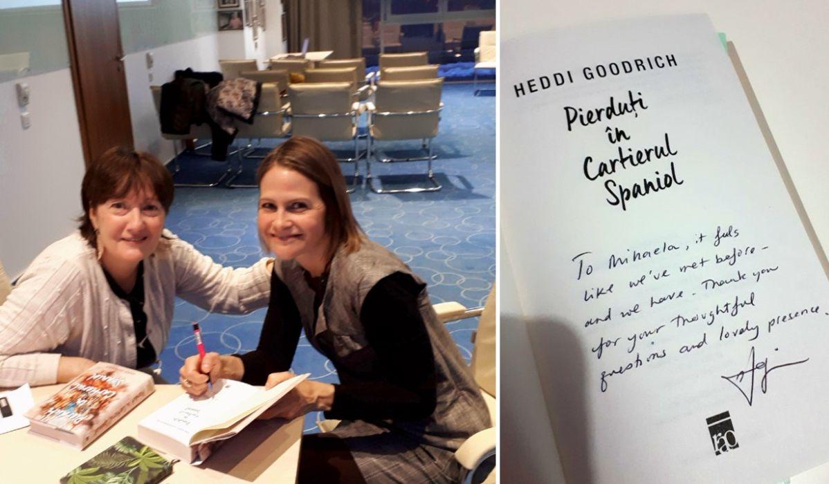 Heddi Goodrich autograf