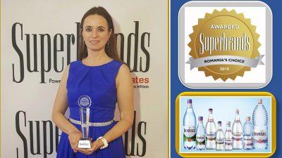 Borsec, de 6 ori câştigător al titlului Superbrands România