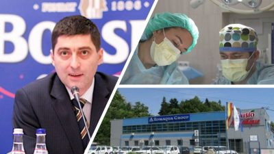 Romaqua Group Borsec donează 500.000 lei spitalelor Matei Balș și Victor Babeș
