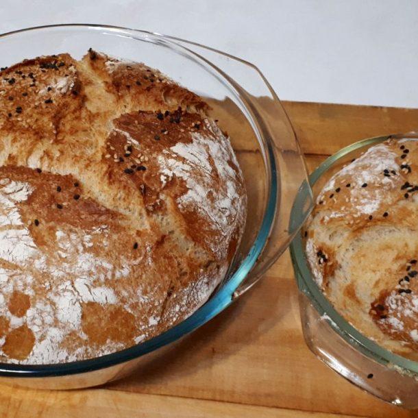 Reţetă de pâine rapidă, fără frământare