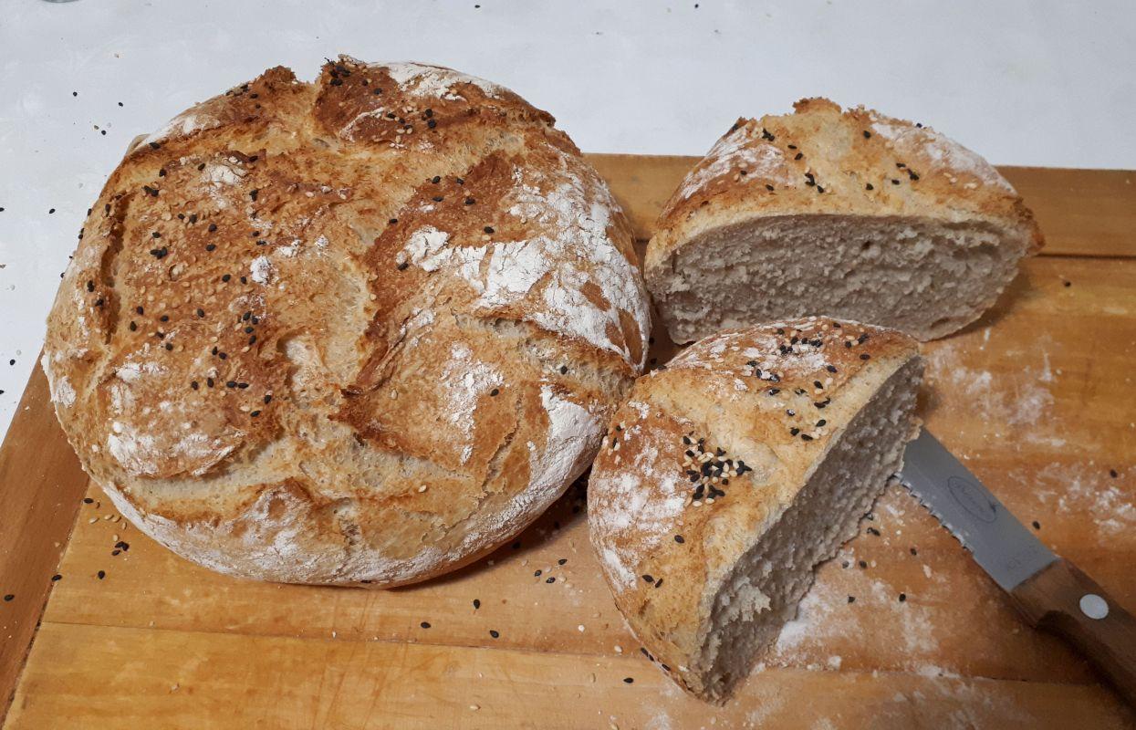 Pâine de casă reţeta simplă