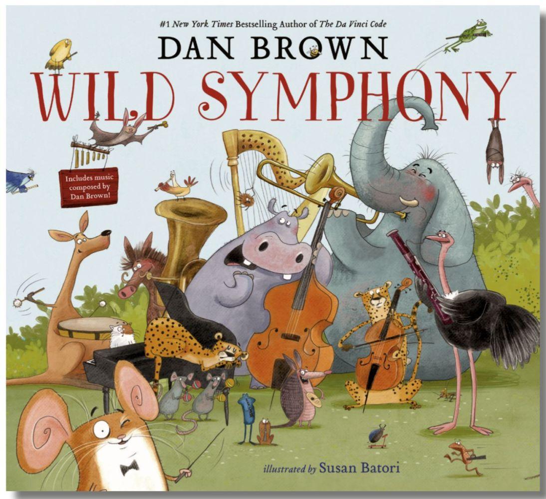 Simfonia Sălbatică, carte de Dan Brown cu album de muzică clasică