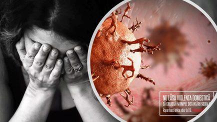 violenţa domestică creşte cu izolarea impusă de coronavirus
