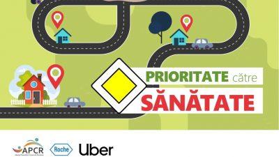 Transport gratuit cu Uber la spital, pentru bolnavii cronici
