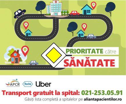 transport gratuit cu Uber