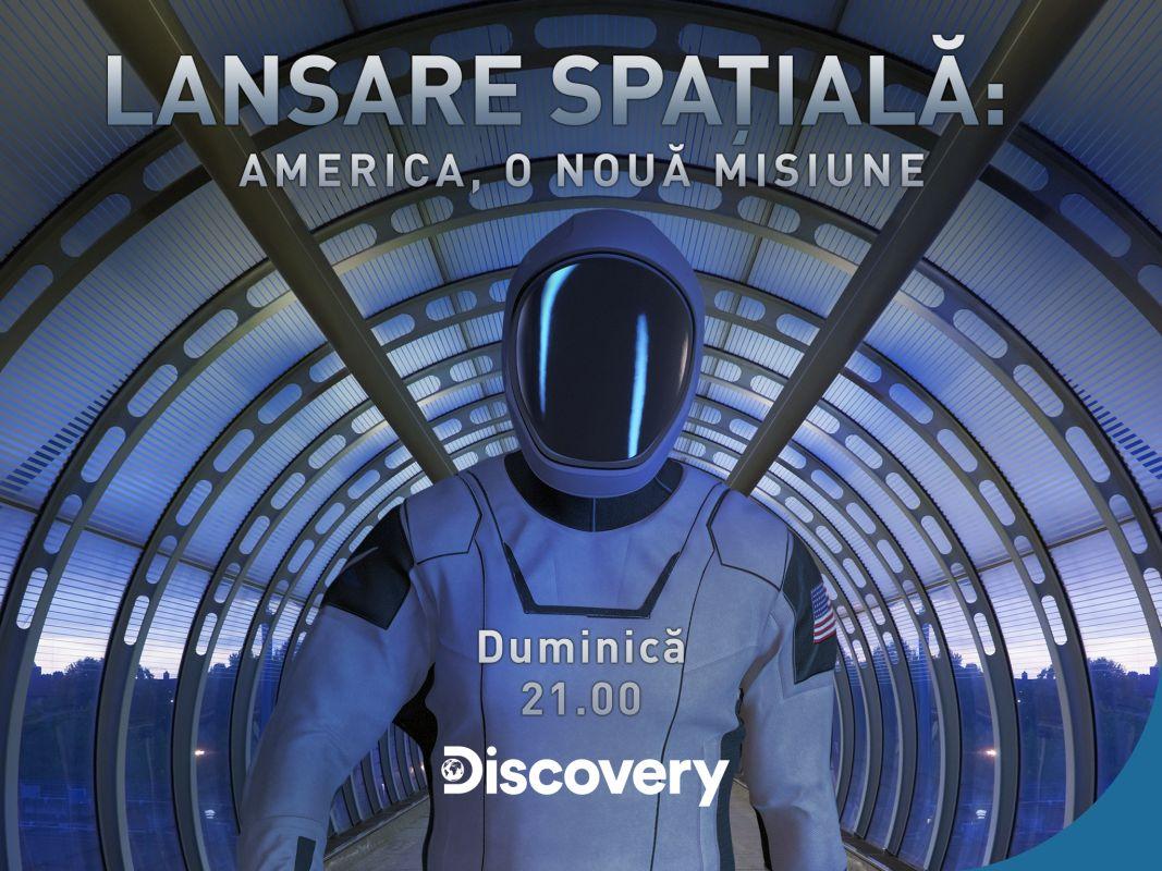 lansarea space X, pe discovery channel