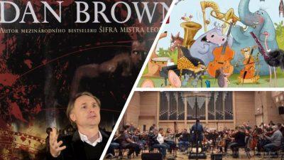 Simfonia Sălbatică a lui Dan Brown, un regal muzical internaţional