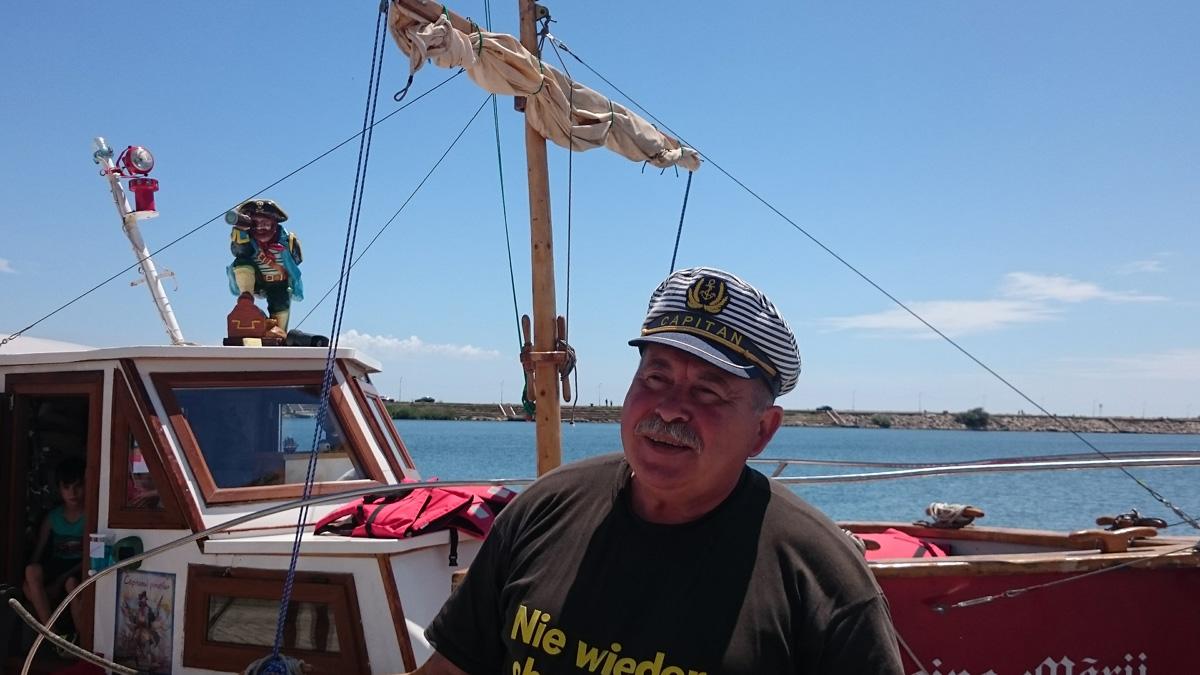 Litoralul românesc, croazieră cu barca