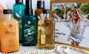 uleiuri hidratante Monoi de Tahiti uscat sau sidefat