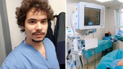 """Medic rezident în UK: """"A început cu o durere de cap"""""""
