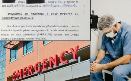 covid-19 pacient spitalul Colentina