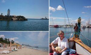 pe litoralul românesc în vremea pandemiei