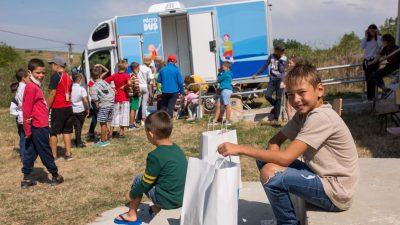 Caravana Microduş a ajuns în satele din judeţul Iaşi