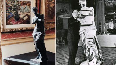 Venus din Milo a lui Dali licitată în România pe 1 octombrie