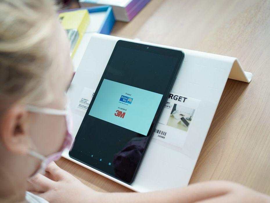 United Way 3M tablete