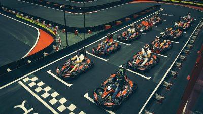 Vmax Karting din Bucureşti, cea mai mare pistă de indoor karting din S-E Europei