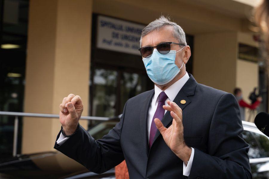 Alături de Decanul facultății, prof. univ. dr. Gabriel Predoi am vizitat primul Spital Universitar Veterinar de Urgenţă din România