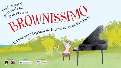 """Concurs de pian """"Brownissimo"""" pentru copii şi tineri"""