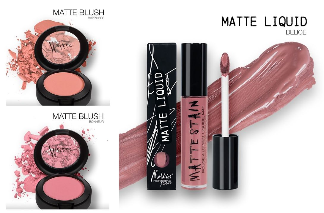 melkior matte Blush & Liquid