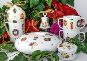Ana Wagner porţelanuri noua colecţie Mysterious Garden