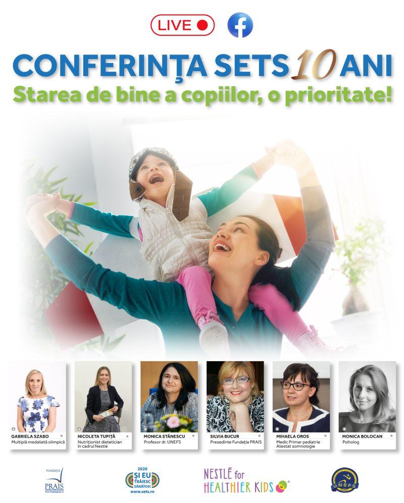 cursurile online şi starea de bine a copiilor, tema conferinţei SETS 10 ani