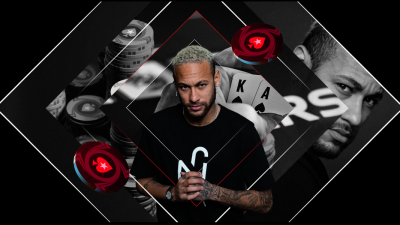 "Legenda fotbalului Neymar Jr merge ""All In"" cu PokerStars"
