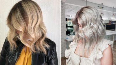 Nuanţator violet pentru părul decolorat sau cu şuviţe blonde