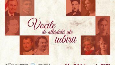 Scrisori de dragoste ale istoriei universale, în vocea unor actori contemporani