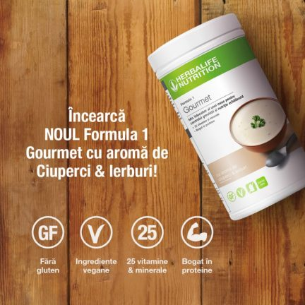 F1 shake gourmet herbalife nutrition