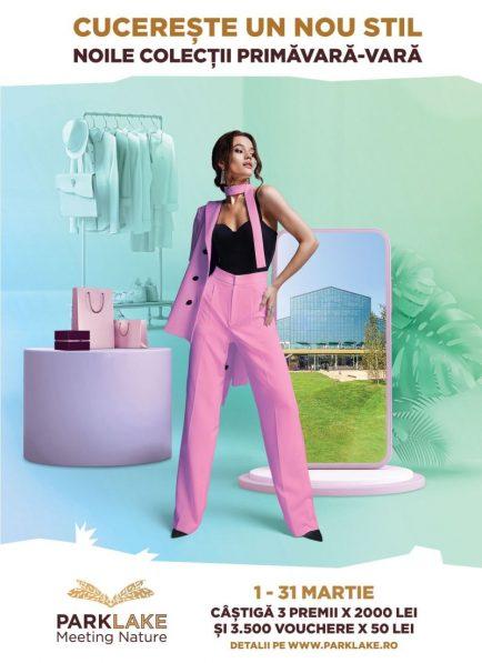 shopping-ul la ParkLake e premiat în luna martie cu 3500 de vouchere