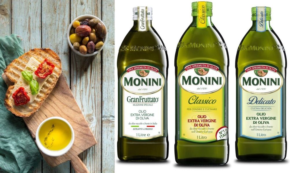 uleiul de măsline Monini