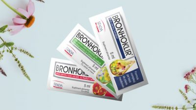 Bronhoklir, plicul cu sirop inovator împotriva tusei