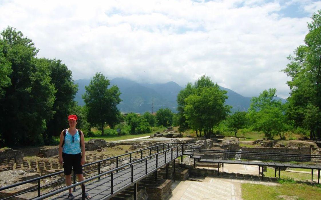 Dion, parcul arheologic la 17 km de Paralia Katerini