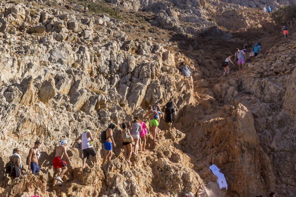 Plaja Golful Diavolului Insula Creta