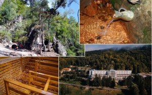 Peștera Puturosu, mofete unice în lume și izvoare minerale naturale