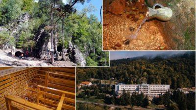 O peșteră, mofete unice în lume și 1000 de izvoare minerale