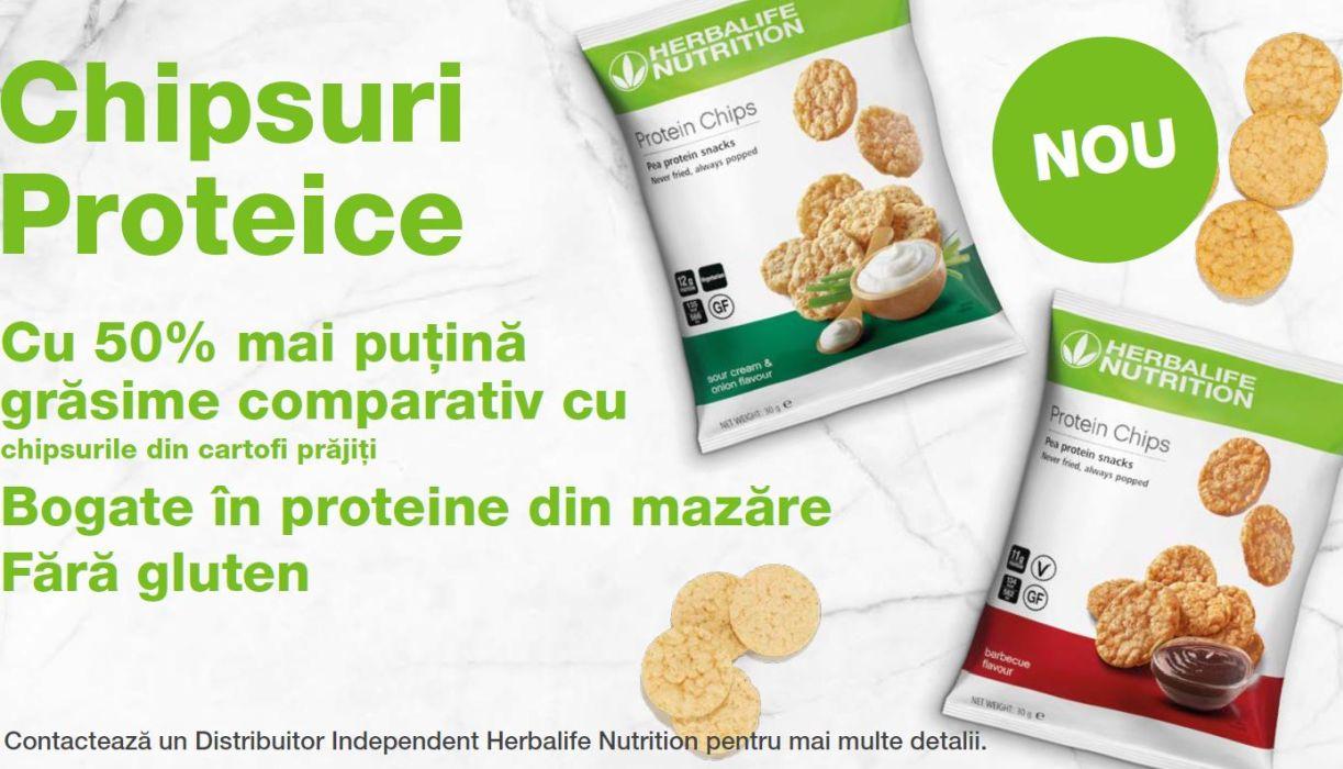 chipsuri proteice herbalife nutrition