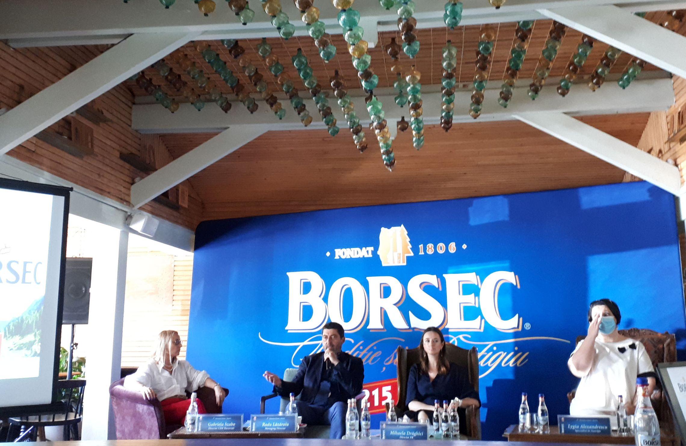 conferința de presă 215 ani cu Borsec