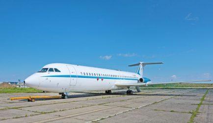 primul si singurul avion de pasageri construit in Romania, pentru Nicolae Ceaușsescu