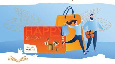 Gift Card-ul ParkLake, cadoul perfect pentru orice ocazie