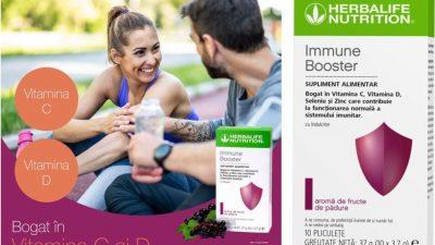 Immune Booster, o formulă specială pentru creșterea imunității