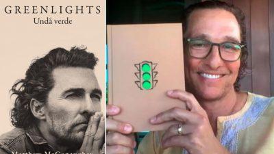 Matthew McConaughey autor de succes, acum și în librăriile noastre