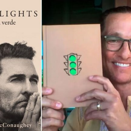 Matthew McConaughey autor de carte
