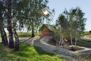 Sauna din pădure satul Peteni